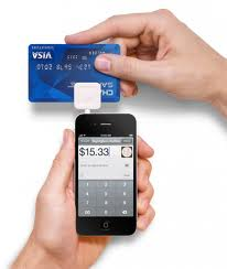 square reader accepting credit card payment