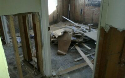 Who will haul away remodeling debris?