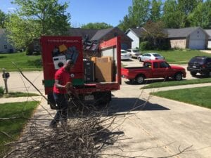Landscaping Debris Removal in Indianapolis