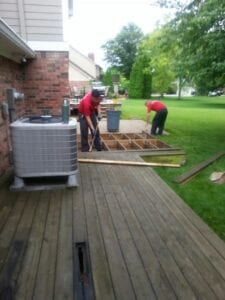Deck Removal Indianapolis