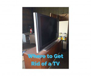 Where to Get Rid of an Old TV in Indianapolis