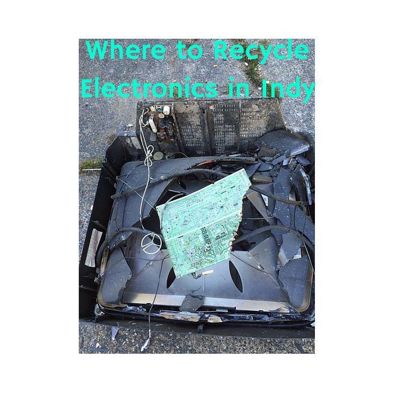 Where to Recycle Electronics in Indianapolis