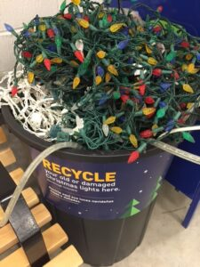 Where to Recycle Christmas Lights in Indianapolis
