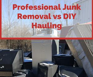 Professional Junk Removal vs DIY Hauling