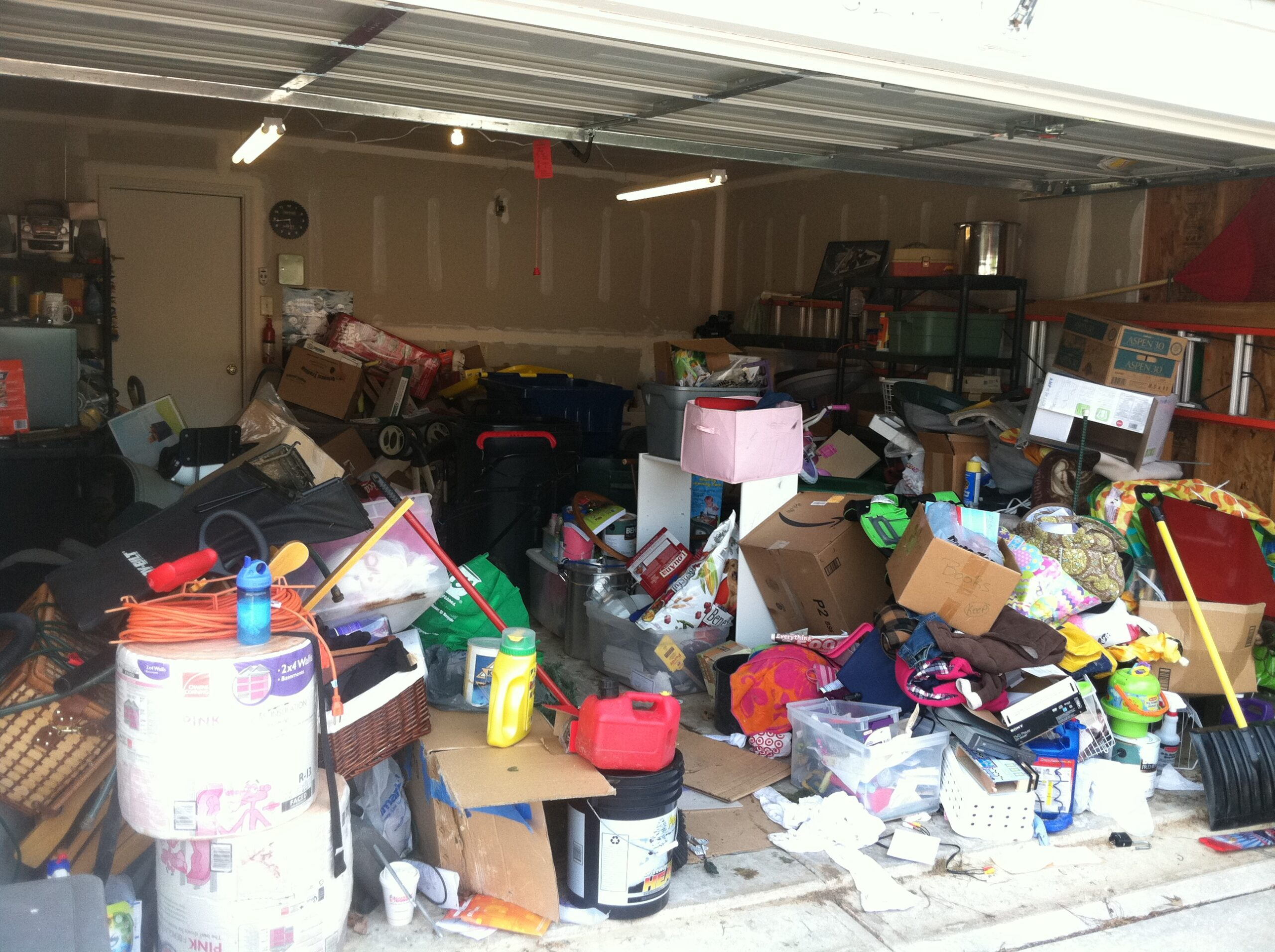 Image of Before Garage Cleanout
