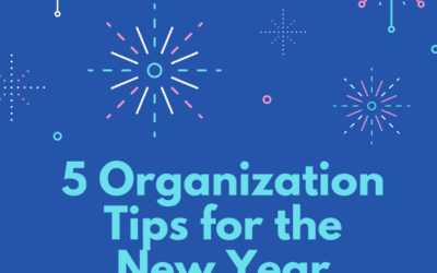 Tips for Organizing Clutter in The New Year