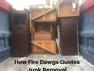 How Does Fire Dawgs Quote Junk Removal?