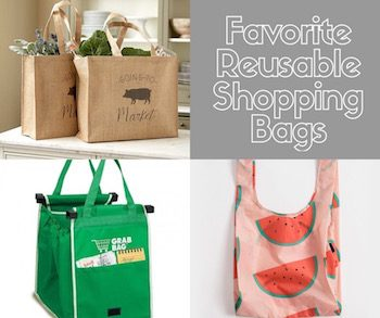 favorite reusable shopping bags