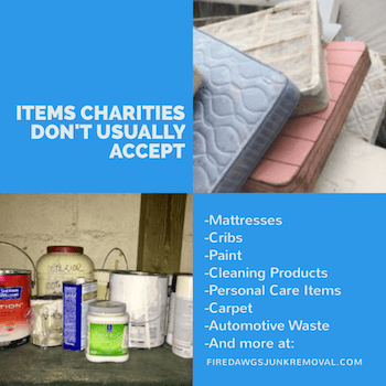 Items Charities Do Not Accept