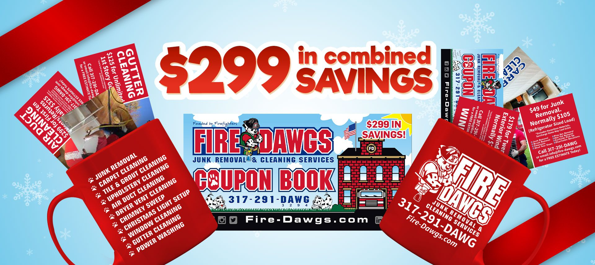 Fire Dawgs Coupon Book 2017