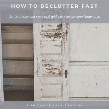 Tips for How to Declutter Fast