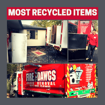 Fire Dawgs Most Recycled Items