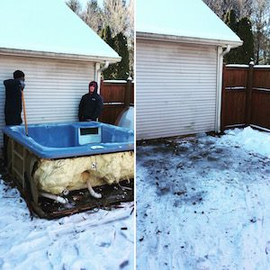 Indianapolis Hot Tub Removal