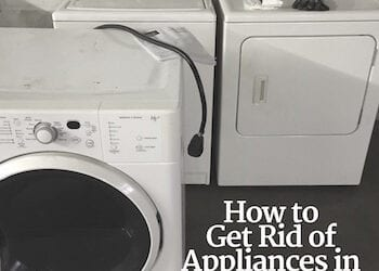 How to Get Rid of Appliances in Indianapolis