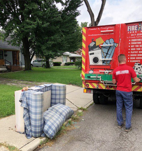 Image of couch removal service