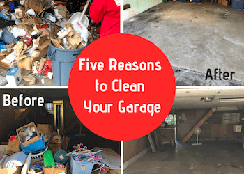 Five Reasons to Clean Your Garage