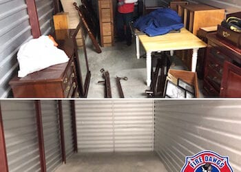 Storage Unit Clean Out in Bloomington