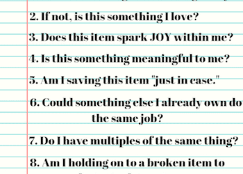 Questions to Help You Declutter