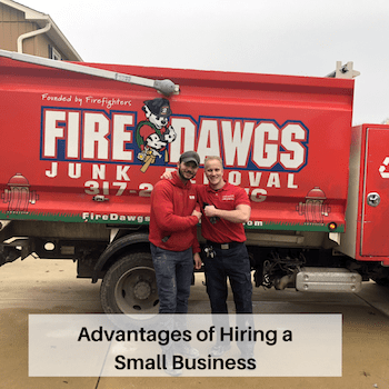 Advantages of Hiring a Small Business