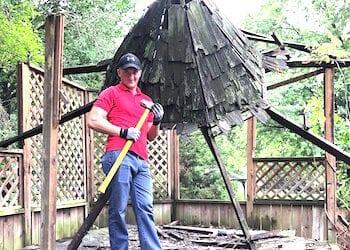 Gazebo Removal in Indianapolis
