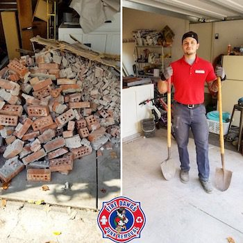 A picture of garage clean out in Brownsburg IN