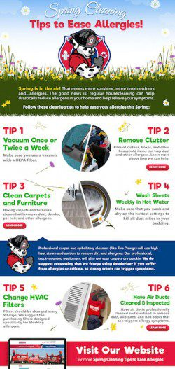 Spring Cleaning Tips to Reduce Allergens