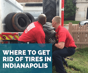 Where to Get Rid of Tires in Indianapolis