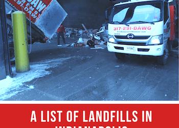 Landfills in Indianapolis