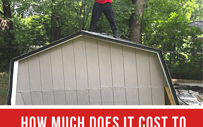 How Much Does it Cost to Remove an Old Shed?