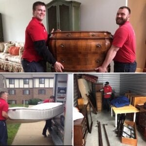 picture collage of furniture movers Indianapolis IN