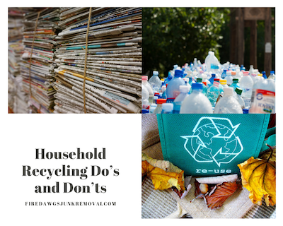 Household Recycling Do's and Don'ts