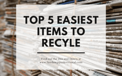 Easiest Items to Recycle
