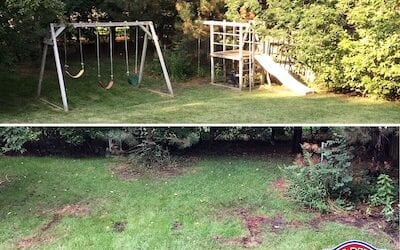 How Much Does Swing Set Removal Cost?