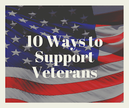 Every Day Ways to Support Veterans