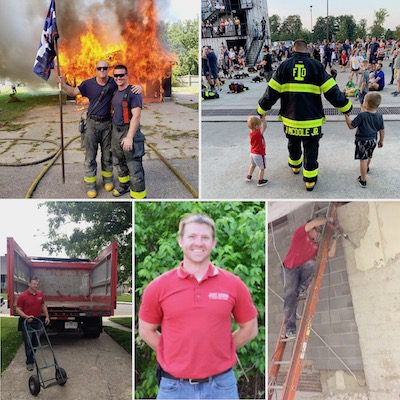 Welcome Back Jeff McDole fire dawgs junk removal indianapolis