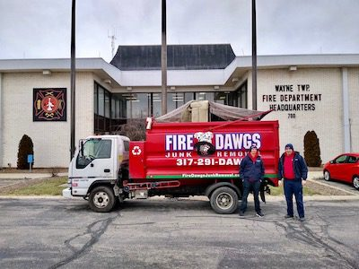 Indianapolis Live Fire Training Donations from Fire Dawgs