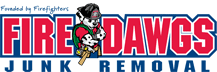 Fire Dawgs Junk Removal logo