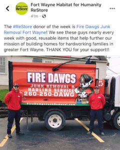 Donations Pick Up Fort Wayne IN