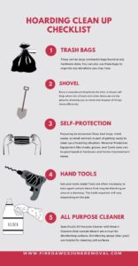 Hoarding Clean Up Checklist