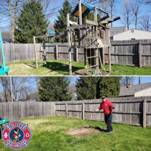 How to Remove a Swingset