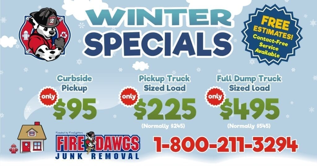 winter junk removal deals