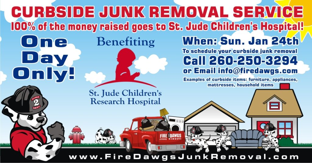 Fort Wayne Curbside Junk Removal for Charity