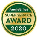 Image of Angie's List 2020 Super Service Award given to Fire Dawgs Junk Removal