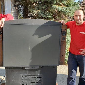 is it ok to throw TVs away?