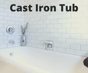 How Much Does it Cost to Remove Cast Iron Tub?