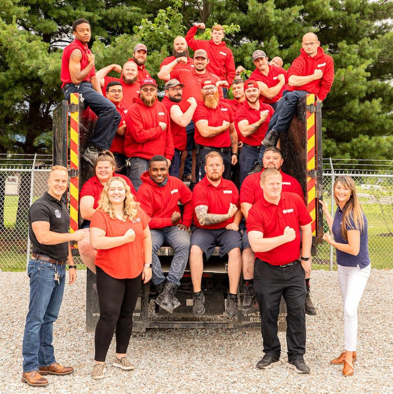 Fire Dawgs Junk Removal Indianapolis Team Contact Us Page