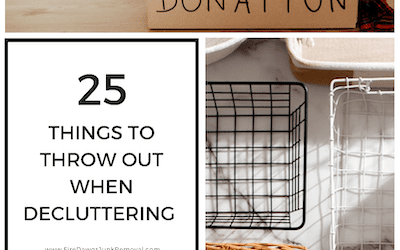 What to Throw Out When Decluttering