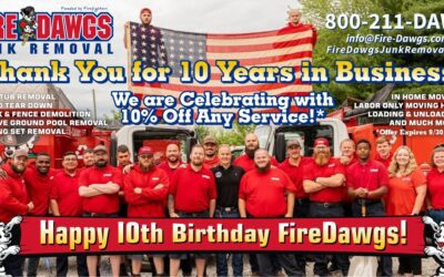 We're Celebrating 10 Years in Business