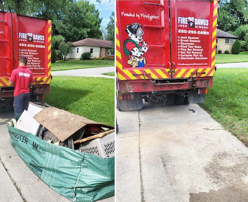 picture of Dumpster Bag Pick Up in Fort Wayne