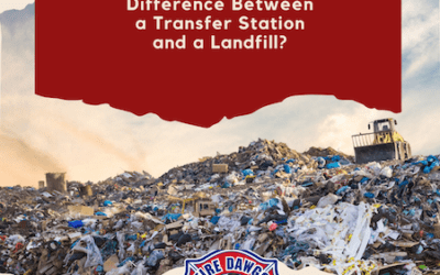 What's the Difference Between a Transfer Station and a Landfill?